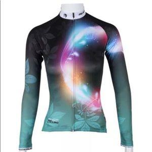 Tops - NWT Glow women cycling jersey Xl